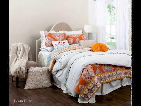 Bedding Bundle: Harley Quilt Set + Boho Tassel Comforter Set