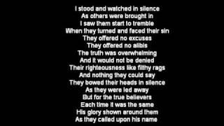 One Drop Of Blood By Ray Boltz (LYRICS)
