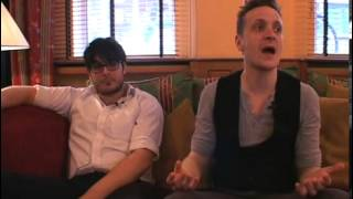 The Futureheads 2008 interview - Barry and Ross (part 6)