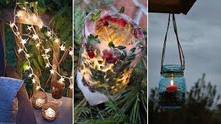 10 Cheap DIY Backyard Lighting Ideas