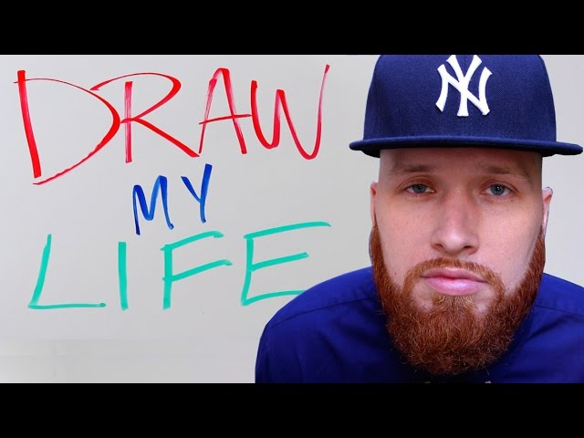 DRAW MY LIFE - MR FOAMER SIMPSON - 100K SUBSCRIBER SPECIAL!