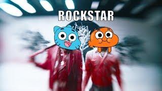Gumball Sing Post Malone Rockstar ft 21 Savage [Cartoon Cover]