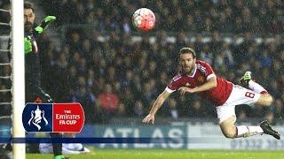 Derby 13 Man Utd  Emirates FA Cup 2015/16 R4  Goals & Highlights