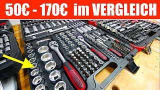Steckschlüsselsatz AMAZON BASIC, Gedore, KS-Tools oder Würth ?!