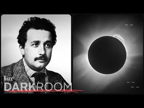 Einsteinovo zatmění Slunce - Slavné fotografie
