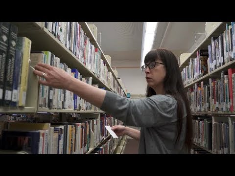 Library Technician video thumbnail
