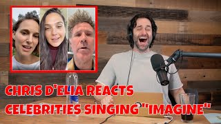 Chris DElia Reacts To Gal Gadot And Friends Singing Imagine