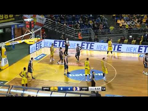 AΡΗΣ – KOΛΟΣΣΟΣ ΡΟΔΟΥ | Basket League | 02/11/2019 | ΕΡΤ