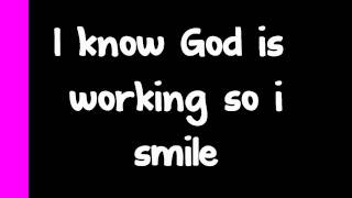 Kirk Franklin - I smile lyrics