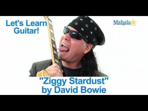 How To Play Ziggy Stardust