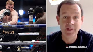 """ARUM STUCK THE KNIFE IN!"" ADAM SMITH REACTS TO WHYTE DEVASTATING KO LOSS TO POVETKIN, ARUM COMMENTS"