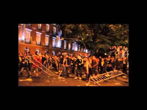 Spain #S25 Protest Footage - Compilation