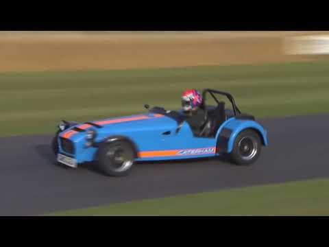 Vuhl 05 vs Caterham 620R vs KTM X-Bow at Goodwood Festival of Speed