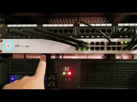 New Unifi Switch and Quick Network Tour