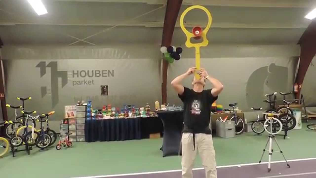 product video Henrys Circus Free Diabolo met kogellager