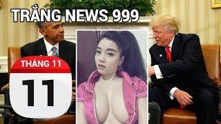 Obama - Trump lần đầu gặp nhau tại Nhà Trắng | TRẮNG NEWS 999 | 11-11-2016