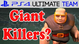 Madden 15 - Madden 15 Ultimate Team - GIANT KILLERS | MUT 15 PS4 Gameplay