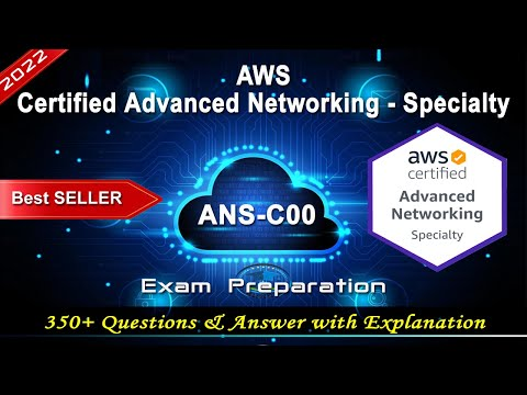 AWS ANS-C00 | AWS Certified Advanced Networking - Specialty ...