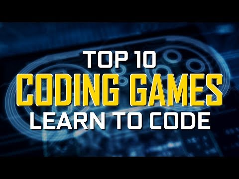 Top 10 Best CODING GAMES to Learn How to Code!
