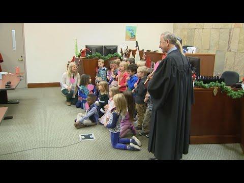 Heartwarming Lesson: Kindergarten Class Cheers On Adoption