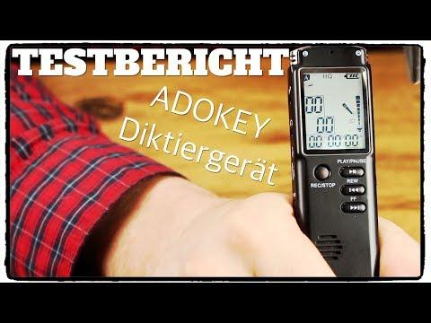ADOKEY DIKTIERGERÄT TEST BERICHT ❌ GUTE ALTERNATIVE ZUM ZOOM H1