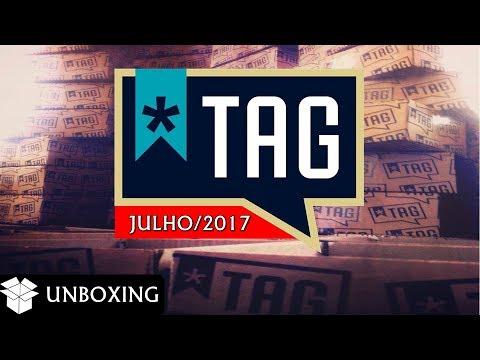 Unboxing |  TAG  de Julho/2017 + Vantagens e Desvantagens
