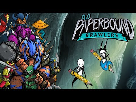 Paperbound Brawlers Nintendo Switch Trailer thumbnail