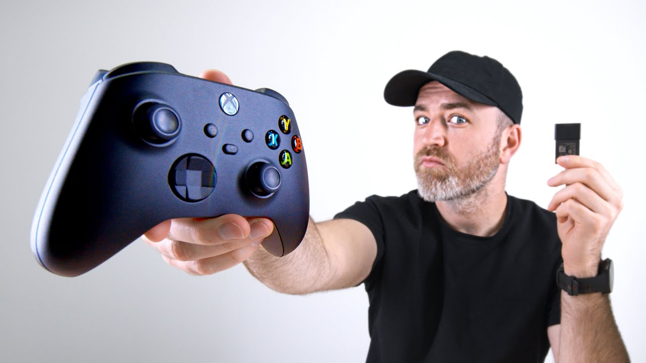 Xbox Series X Controller + 1TB Expansion Card Hands-On thumbnail