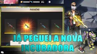 FUI O PRIMEIRO A PEGAR A NOVA INCUBADORA DA MP40 NO FREE FIRE!