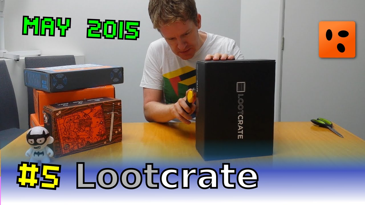 Mailbag Lootcrate | May 2015 - Unite