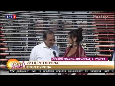 Συνέντευξη του Δημάρχου Βύρωνα στην ΕΡΤ για τη 2η Γιορτή Μπύρας Βύρωνα