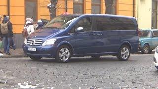 Выбираем автобус. Едем в Черновцы смотреть  Мерседес Вито. Авария на трассе.