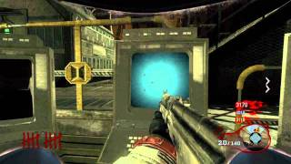Blackops Zombies MOON | Easter Egg Part 1 | Colored Sequence