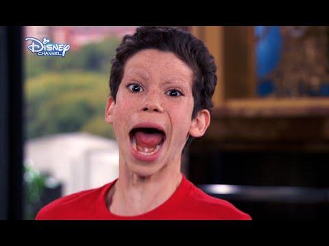 Jessie - OMG Luke Loses His Eyebrows! - Disney Channel UK HD