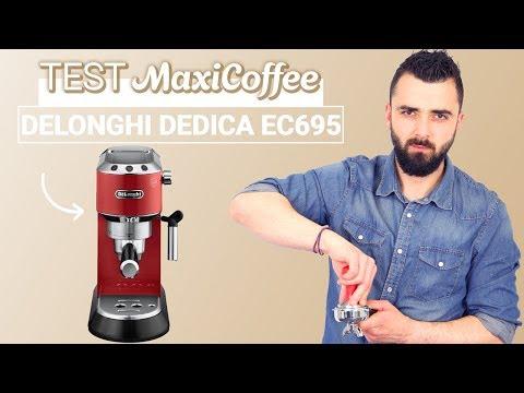 DELONGHI DEDICA EC695 | Machine expresso compacte | Le Test MaxiCoffee