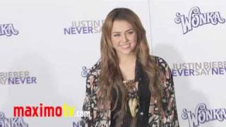 Maximo TV - Never Say Never Premiere #1 - Tapis Violet - 08/02/11