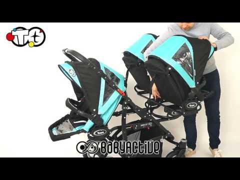 Poussette triple BabyActive TRIPPY TWINNI