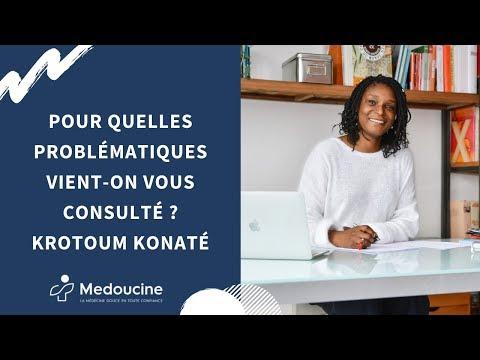 Pour quelles problématiques vient-on vous consulté ? Krotoum Konaté