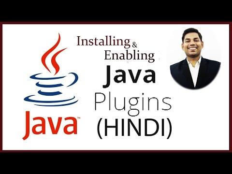 Instalación y habilitación del complemento de Java para ejecutar subprogramas de Java en el navegador (HINDI)