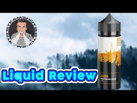 YouTube Video zu Steamshots Axion Longfill Aroma 30 ml für 120 ml