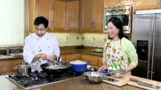 蠔油鮑菇扒小棠菜