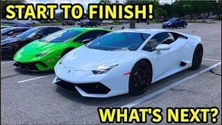 Building A Lamborghini Huracan In 10 Minutes