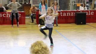 Hannah bei den HIP HOP Meisterschaften 2014