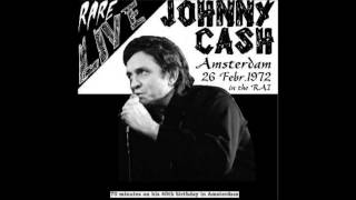 Johnny Cash In Amsterdam Live, (1972/02/26)