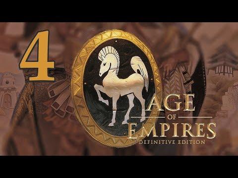 Прохождение Age of Empires: Definitive Edition #4 - Присвоение территории [Слава Греции]