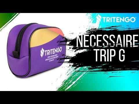 Necessaire Trip G em Neoprene Personalizada para Brindes Corporativos