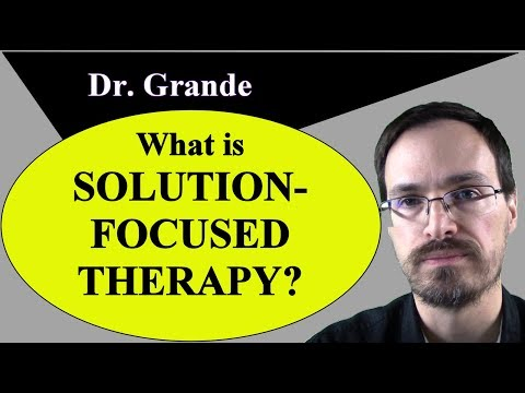 What is Solution-Focused Therapy? (Solution-Focused Brief ...