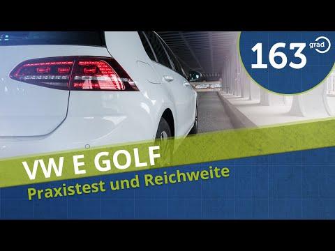 Volkswagen VW eGolf im Test, Probefahrt, Reichweite Fahrbericht Praxistest #163Grad
