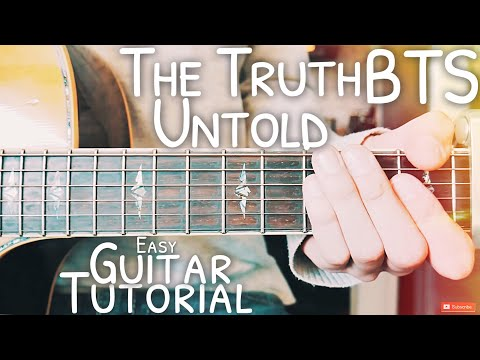Guitar Chords with Strumming Patterns - The Truth Untold - BTS - Wattpad