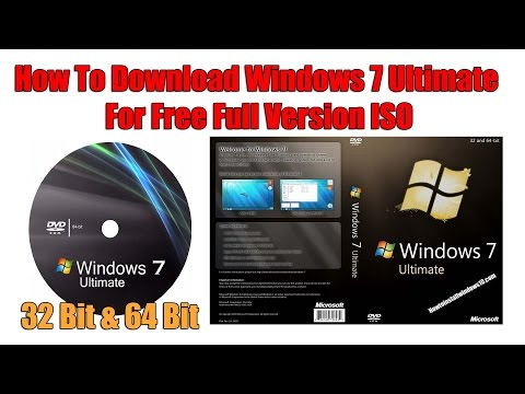 Video How To Download Windows 7 Ultimate For Free Full Version ISO 2017 (WORKING 100%)